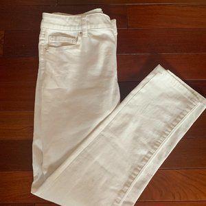 Crown & Ivy White Skinny Jeans